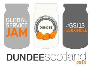 The logo for the Dundee Service Jam