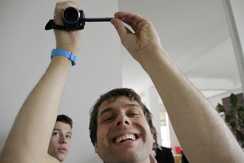 Some expert camera wielding at the 2011 Berlin Jam